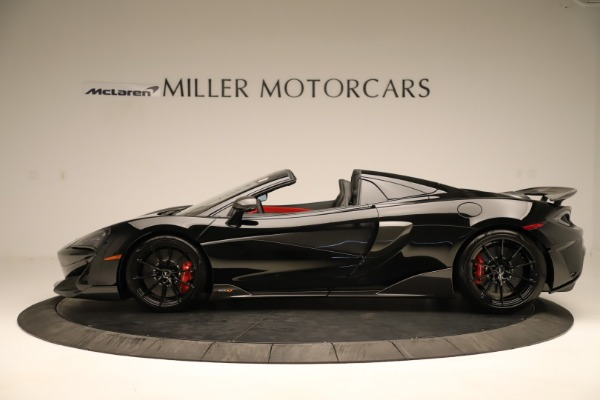 Used 2020 McLaren 600LT Spider for sale $249,900 at Alfa Romeo of Greenwich in Greenwich CT 06830 2