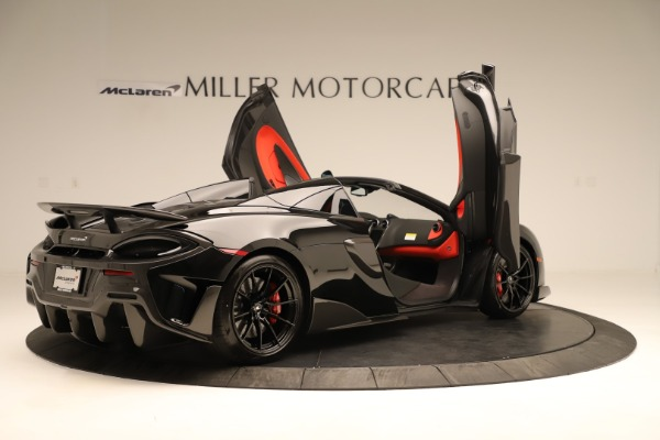 Used 2020 McLaren 600LT Spider for sale $249,900 at Alfa Romeo of Greenwich in Greenwich CT 06830 21