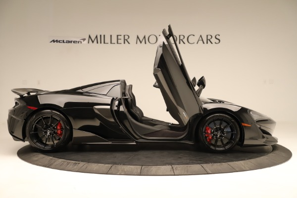 Used 2020 McLaren 600LT Spider for sale $249,900 at Alfa Romeo of Greenwich in Greenwich CT 06830 22