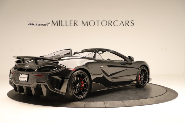 Used 2020 McLaren 600LT Spider for sale $249,900 at Alfa Romeo of Greenwich in Greenwich CT 06830 5