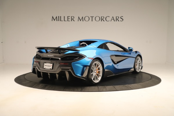 New 2020 McLaren 600LT SPIDER Convertible for sale $303,059 at Alfa Romeo of Greenwich in Greenwich CT 06830 14