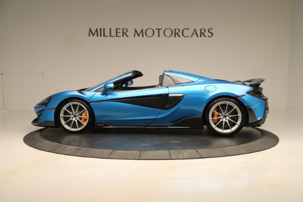 New 2020 McLaren 600LT SPIDER Convertible for sale Sold at Alfa Romeo of Greenwich in Greenwich CT 06830 2