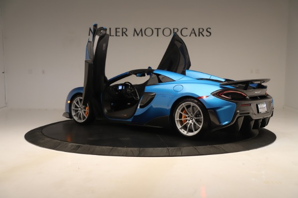 New 2020 McLaren 600LT SPIDER Convertible for sale $303,059 at Alfa Romeo of Greenwich in Greenwich CT 06830 20