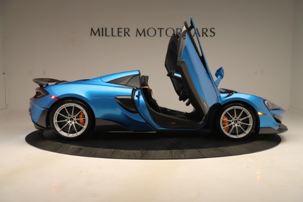 New 2020 McLaren 600LT SPIDER Convertible for sale $303,059 at Alfa Romeo of Greenwich in Greenwich CT 06830 23