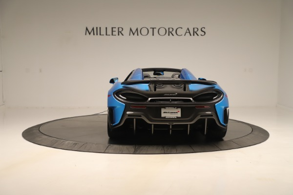 New 2020 McLaren 600LT SPIDER Convertible for sale Sold at Alfa Romeo of Greenwich in Greenwich CT 06830 4