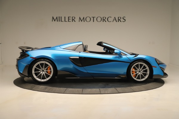 New 2020 McLaren 600LT SPIDER Convertible for sale $303,059 at Alfa Romeo of Greenwich in Greenwich CT 06830 6