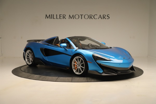 New 2020 McLaren 600LT SPIDER Convertible for sale $303,059 at Alfa Romeo of Greenwich in Greenwich CT 06830 7