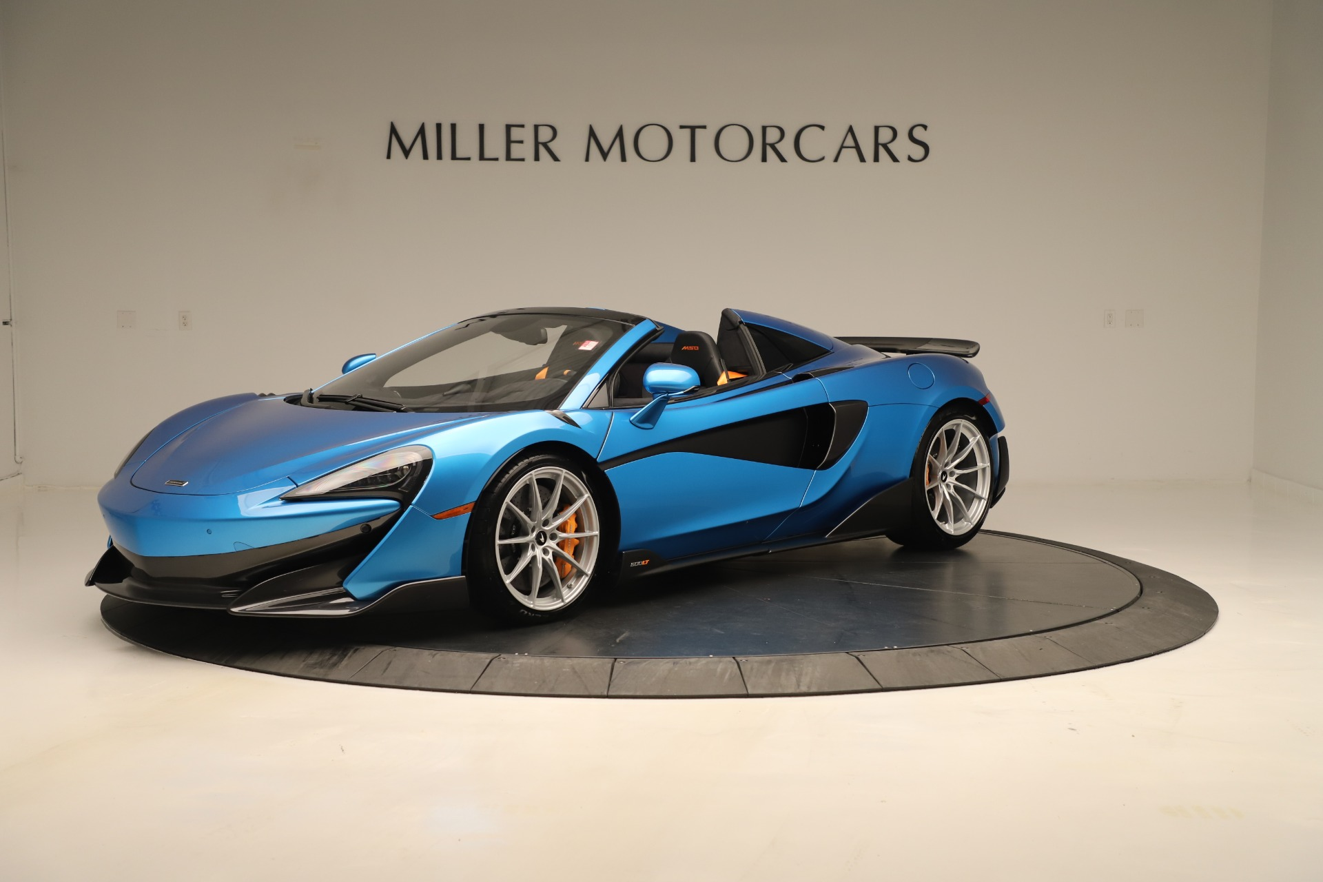 New 2020 McLaren 600LT SPIDER Convertible for sale $303,059 at Alfa Romeo of Greenwich in Greenwich CT 06830 1