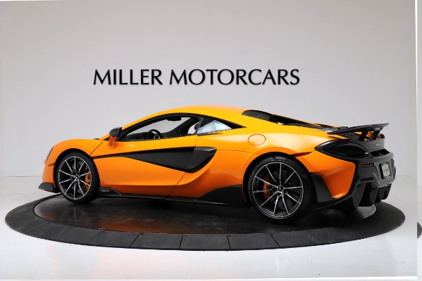 New 2019 McLaren 600LT Coupe for sale $279,310 at Alfa Romeo of Greenwich in Greenwich CT 06830 4