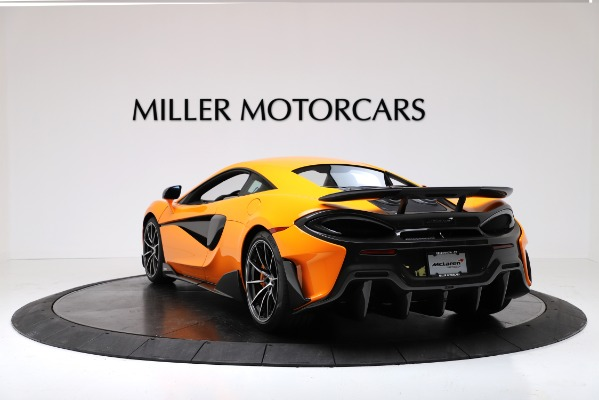 New 2019 McLaren 600LT Coupe for sale $279,310 at Alfa Romeo of Greenwich in Greenwich CT 06830 5