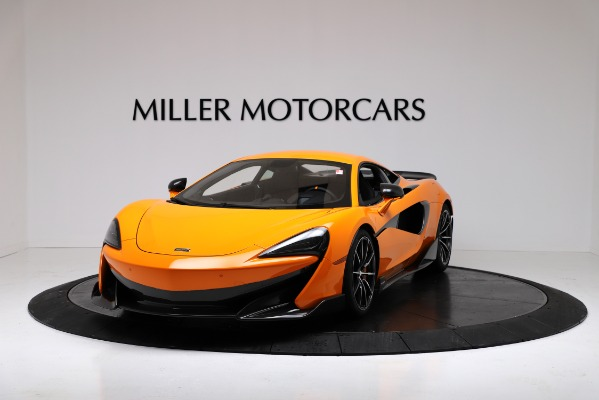New 2019 McLaren 600LT for sale $279,310 at Alfa Romeo of Greenwich in Greenwich CT 06830 2