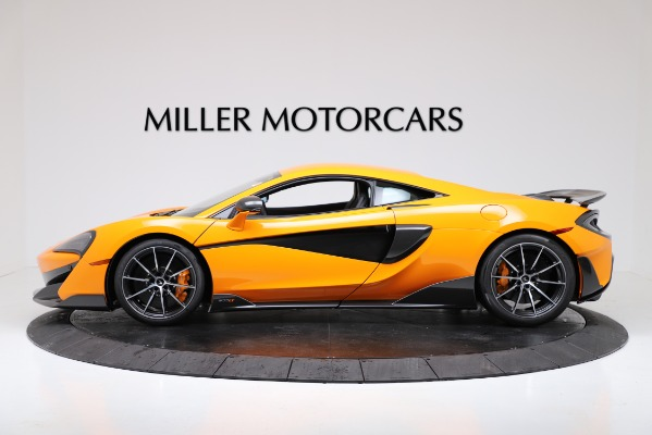New 2019 McLaren 600LT for sale $279,310 at Alfa Romeo of Greenwich in Greenwich CT 06830 3