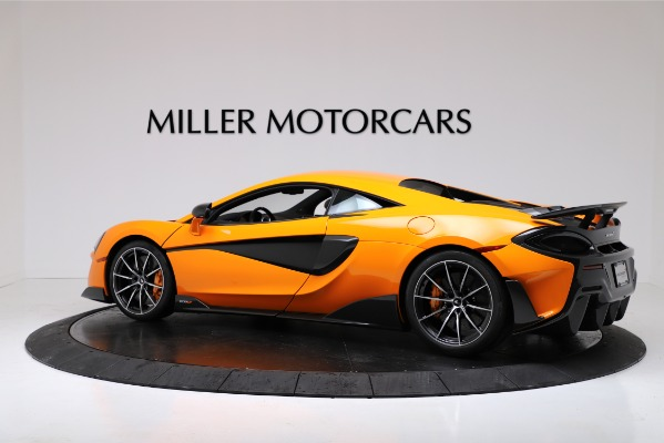 New 2019 McLaren 600LT for sale $279,310 at Alfa Romeo of Greenwich in Greenwich CT 06830 4
