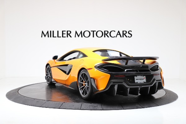 New 2019 McLaren 600LT for sale $279,310 at Alfa Romeo of Greenwich in Greenwich CT 06830 5