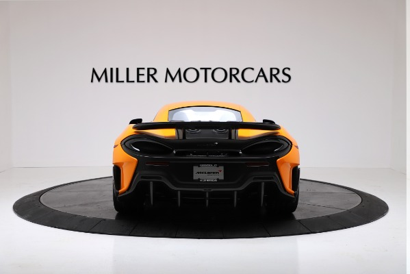 New 2019 McLaren 600LT for sale $279,310 at Alfa Romeo of Greenwich in Greenwich CT 06830 6
