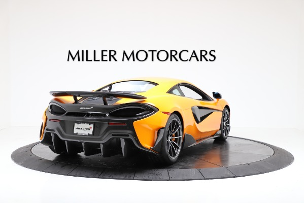 New 2019 McLaren 600LT for sale $279,310 at Alfa Romeo of Greenwich in Greenwich CT 06830 7