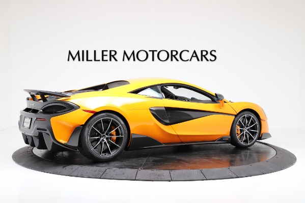 New 2019 McLaren 600LT for sale $279,310 at Alfa Romeo of Greenwich in Greenwich CT 06830 8