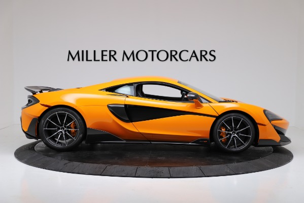 New 2019 McLaren 600LT Coupe for sale $279,310 at Alfa Romeo of Greenwich in Greenwich CT 06830 9
