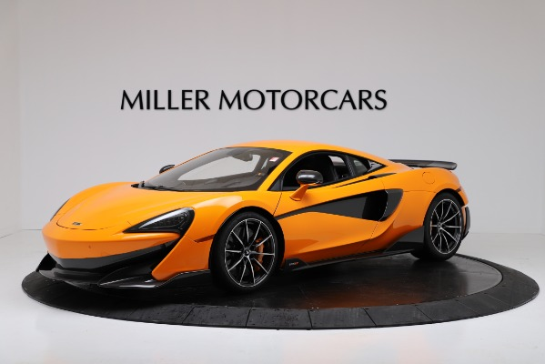 New 2019 McLaren 600LT Coupe for sale $279,310 at Alfa Romeo of Greenwich in Greenwich CT 06830 1