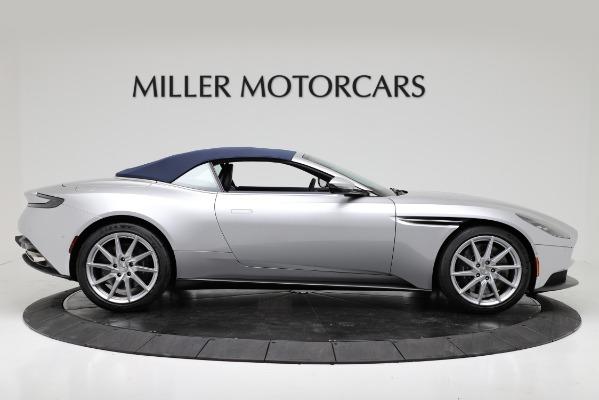 Used 2019 Aston Martin DB11 Volante for sale $209,990 at Alfa Romeo of Greenwich in Greenwich CT 06830 17