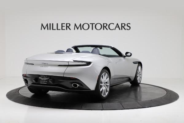 Used 2019 Aston Martin DB11 Volante for sale $209,990 at Alfa Romeo of Greenwich in Greenwich CT 06830 7