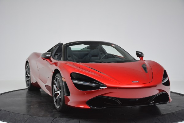 New 2020 McLaren 720S SPIDER Convertible for sale Sold at Alfa Romeo of Greenwich in Greenwich CT 06830 26