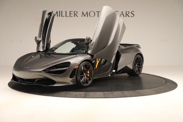 New 2020 McLaren 720S SPIDER Convertible for sale Sold at Alfa Romeo of Greenwich in Greenwich CT 06830 18