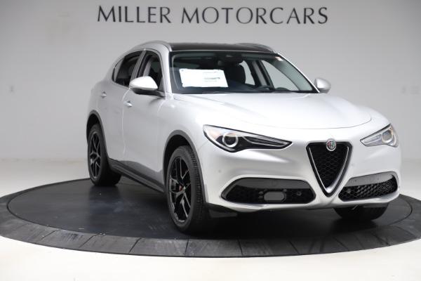New 2019 Alfa Romeo Stelvio Ti Q4 for sale $51,940 at Alfa Romeo of Greenwich in Greenwich CT 06830 11