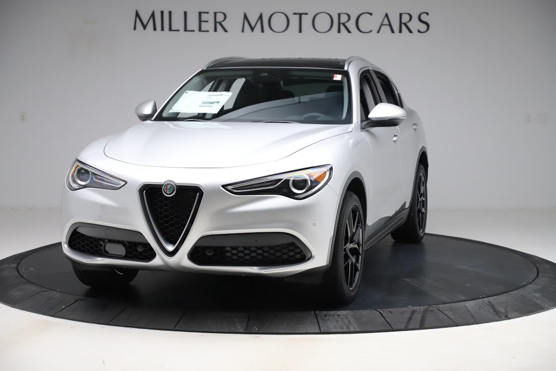 New 2019 Alfa Romeo Stelvio Ti Q4 for sale $51,940 at Alfa Romeo of Greenwich in Greenwich CT 06830 1