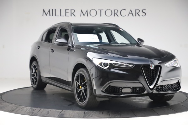 New 2019 Alfa Romeo Stelvio Ti Q4 for sale Sold at Alfa Romeo of Greenwich in Greenwich CT 06830 11