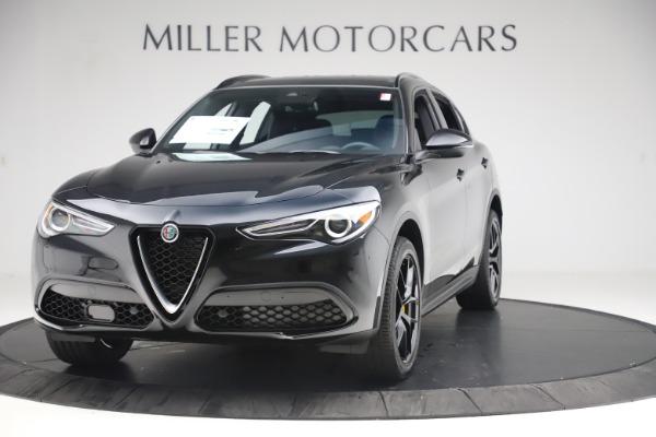 New 2019 Alfa Romeo Stelvio Ti Q4 for sale Sold at Alfa Romeo of Greenwich in Greenwich CT 06830 1