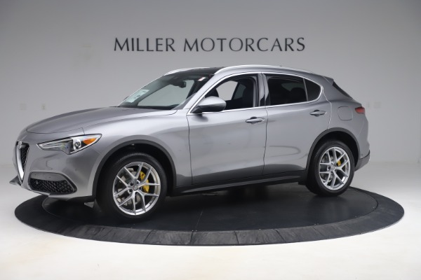 New 2019 Alfa Romeo Stelvio Ti Lusso Q4 for sale Sold at Alfa Romeo of Greenwich in Greenwich CT 06830 2