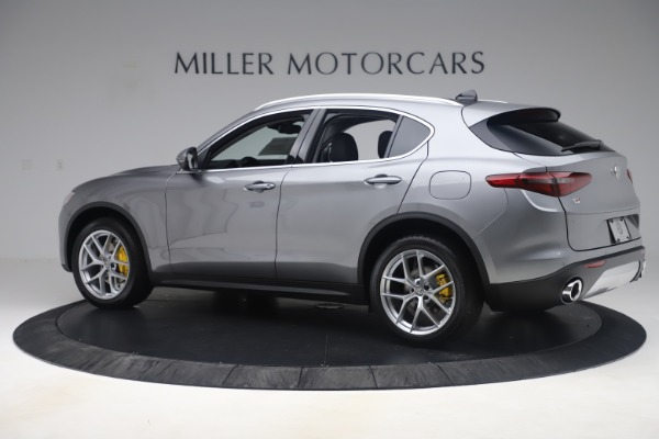 New 2019 Alfa Romeo Stelvio Ti Lusso Q4 for sale Sold at Alfa Romeo of Greenwich in Greenwich CT 06830 4