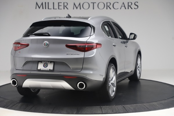 New 2019 Alfa Romeo Stelvio Ti Lusso Q4 for sale Sold at Alfa Romeo of Greenwich in Greenwich CT 06830 7