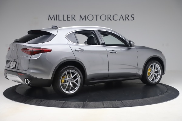 New 2019 Alfa Romeo Stelvio Ti Lusso Q4 for sale Sold at Alfa Romeo of Greenwich in Greenwich CT 06830 8