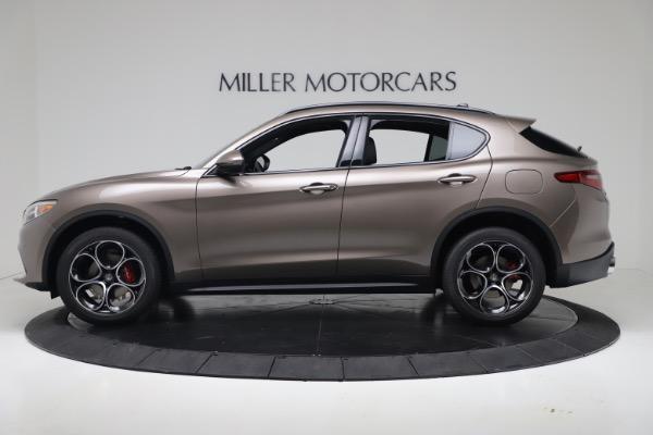 New 2019 Alfa Romeo Stelvio Ti Sport Q4 for sale Sold at Alfa Romeo of Greenwich in Greenwich CT 06830 3
