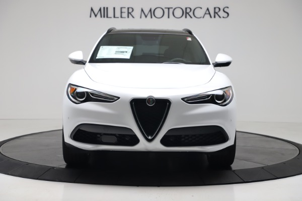 New 2019 Alfa Romeo Stelvio Ti Sport Q4 for sale Sold at Alfa Romeo of Greenwich in Greenwich CT 06830 12