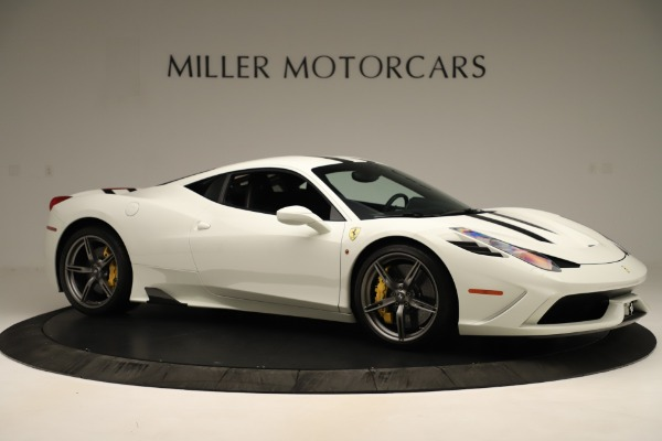Used 2014 Ferrari 458 Speciale for sale $359,900 at Alfa Romeo of Greenwich in Greenwich CT 06830 10