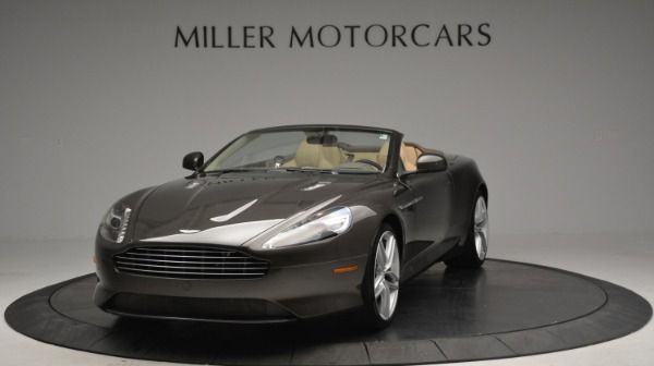 Used 2012 Aston Martin Virage Convertible for sale Sold at Alfa Romeo of Greenwich in Greenwich CT 06830 13