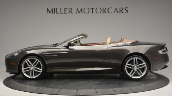 Used 2012 Aston Martin Virage Convertible for sale Sold at Alfa Romeo of Greenwich in Greenwich CT 06830 3