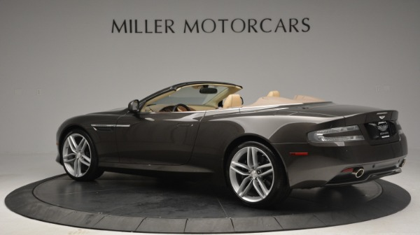 Used 2012 Aston Martin Virage Convertible for sale Sold at Alfa Romeo of Greenwich in Greenwich CT 06830 4