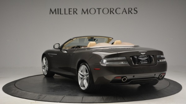 Used 2012 Aston Martin Virage Convertible for sale Sold at Alfa Romeo of Greenwich in Greenwich CT 06830 5