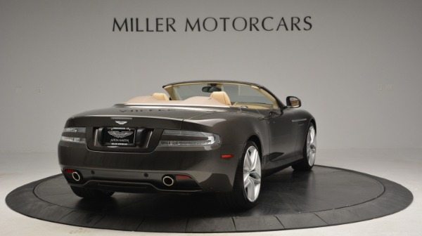 Used 2012 Aston Martin Virage Convertible for sale Sold at Alfa Romeo of Greenwich in Greenwich CT 06830 7