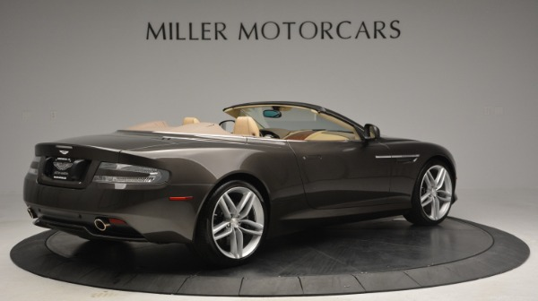 Used 2012 Aston Martin Virage Convertible for sale Sold at Alfa Romeo of Greenwich in Greenwich CT 06830 8