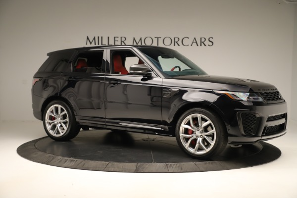 Used 2019 Land Rover Range Rover Sport SVR for sale Sold at Alfa Romeo of Greenwich in Greenwich CT 06830 10