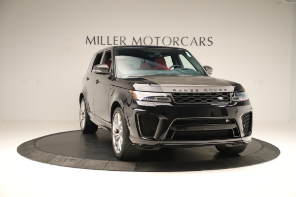 Used 2019 Land Rover Range Rover Sport SVR for sale Sold at Alfa Romeo of Greenwich in Greenwich CT 06830 11