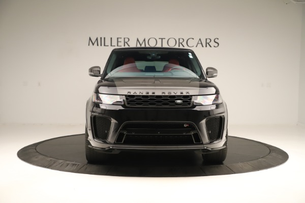 Used 2019 Land Rover Range Rover Sport SVR for sale Sold at Alfa Romeo of Greenwich in Greenwich CT 06830 12