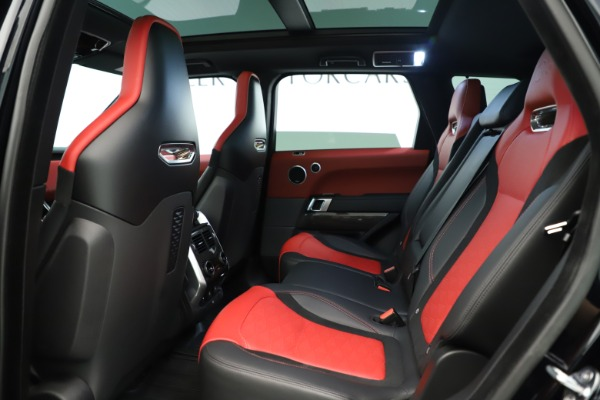 Used 2019 Land Rover Range Rover Sport SVR for sale Sold at Alfa Romeo of Greenwich in Greenwich CT 06830 17