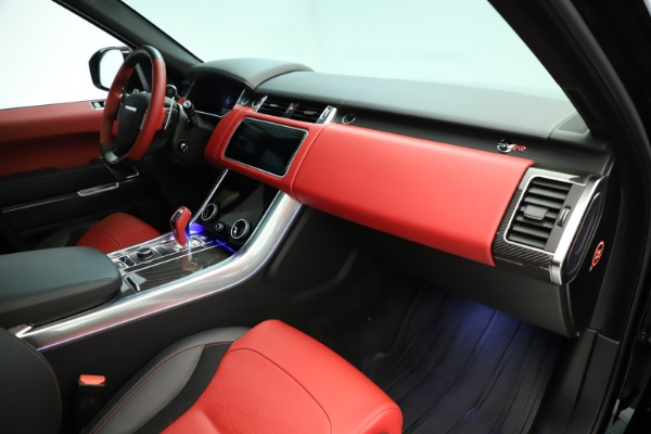 Used 2019 Land Rover Range Rover Sport SVR for sale Sold at Alfa Romeo of Greenwich in Greenwich CT 06830 18