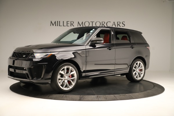 Used 2019 Land Rover Range Rover Sport SVR for sale Sold at Alfa Romeo of Greenwich in Greenwich CT 06830 2